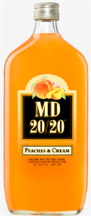 Mogen David Peaches & Cream 20/20 750ml - Case of 12